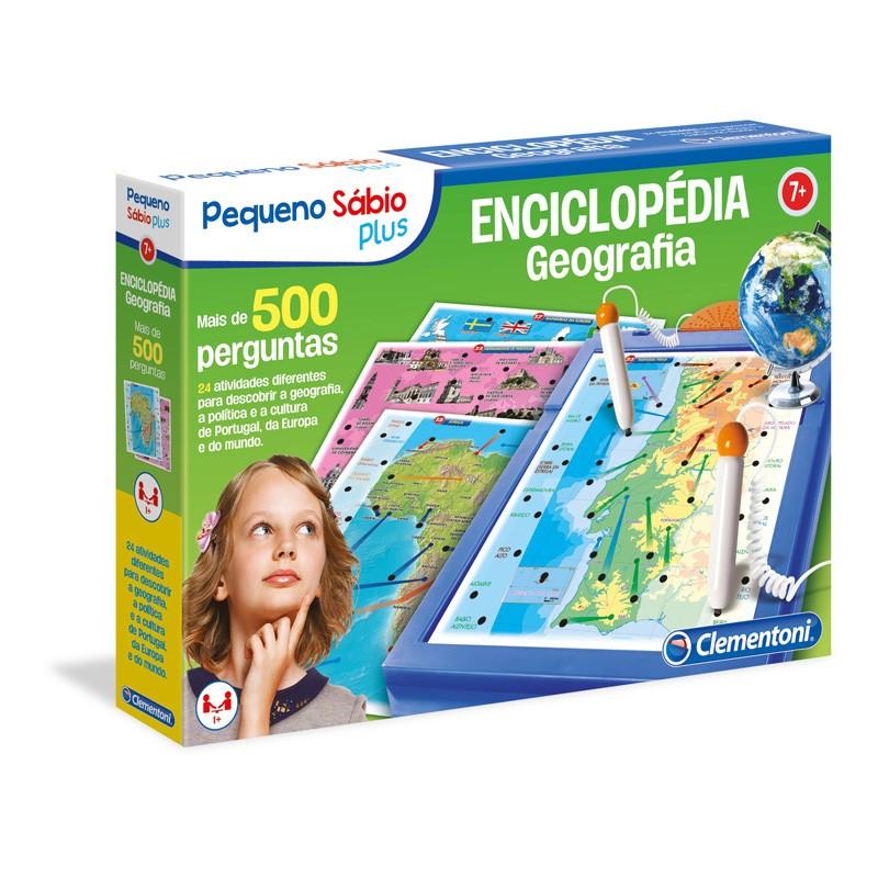 Jogo Enciclopedia Geografia Pequeno Sabio Plus Livraria Ze